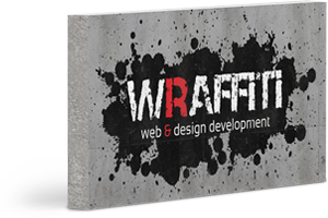 Logo Wraffiti web & design development